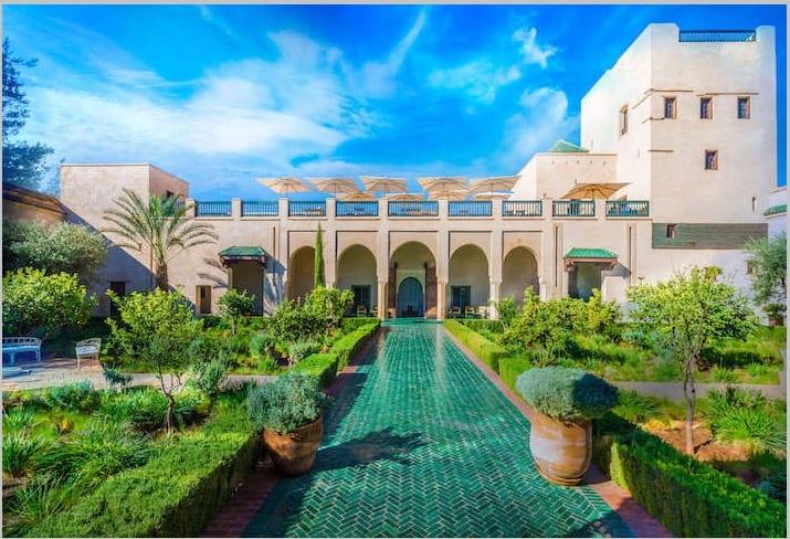 le jardin secret in the Weather in Marrakech