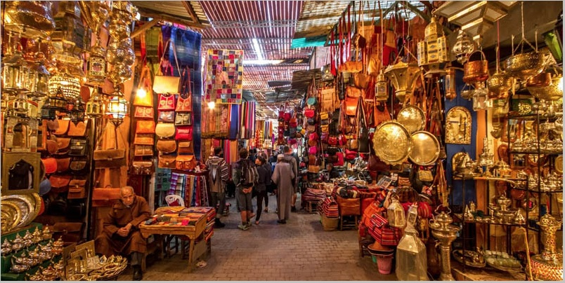 Marrakech Souk 10-things-to-do-in-morocco