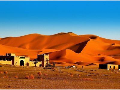Merzouga Morocco desert