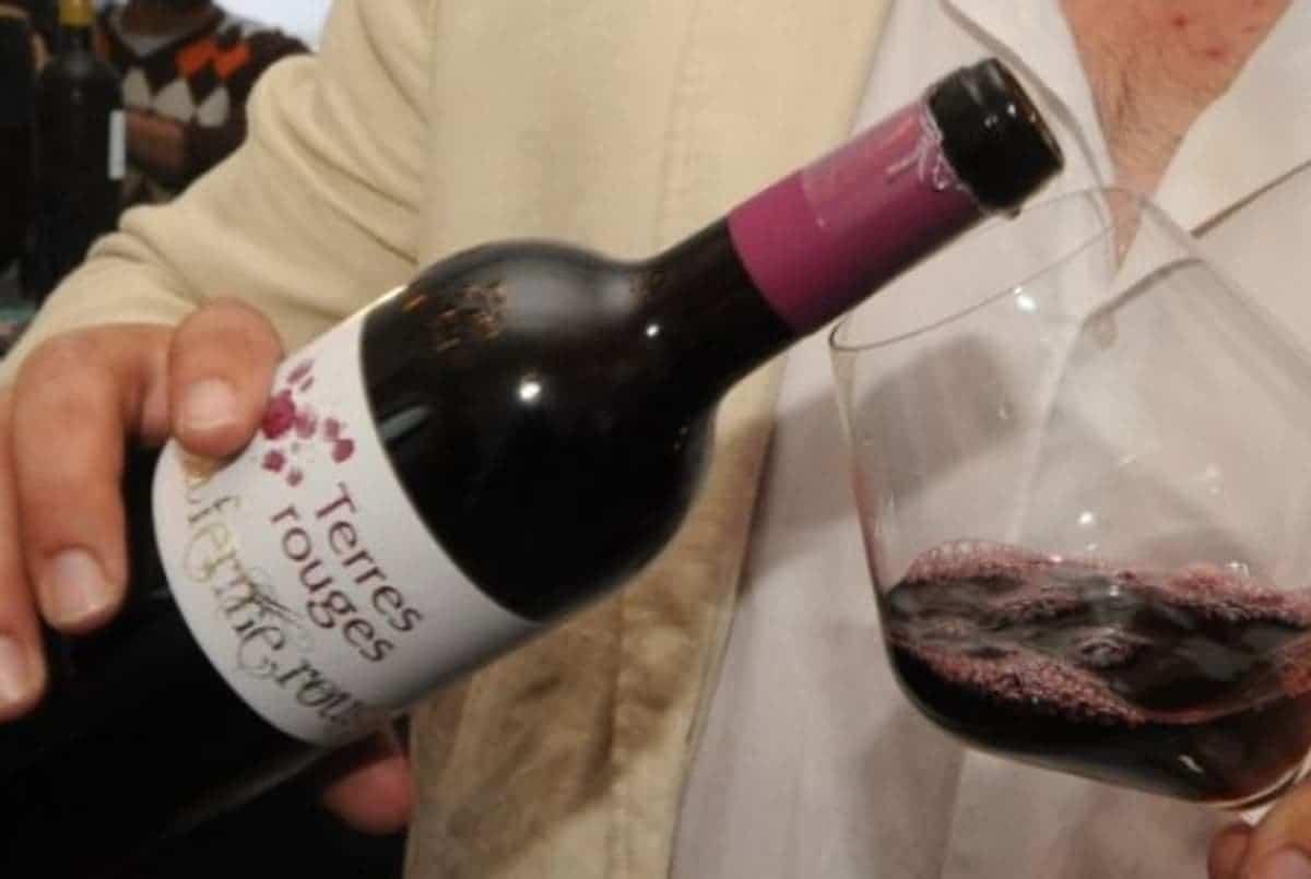 wine in Moroccco