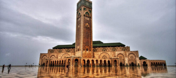 casablanca Morocco Mosque of Hassan II