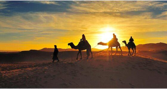 Africa Adventure - Erg Chebbi dunes in Merzouga, Morocco