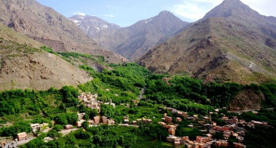 Atlas Mountains ourika